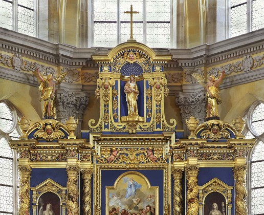 Guided tour of the Chapelle Corneille – altarpieces
