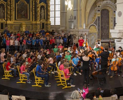 Concert de fin d'année de l'École Harmonique