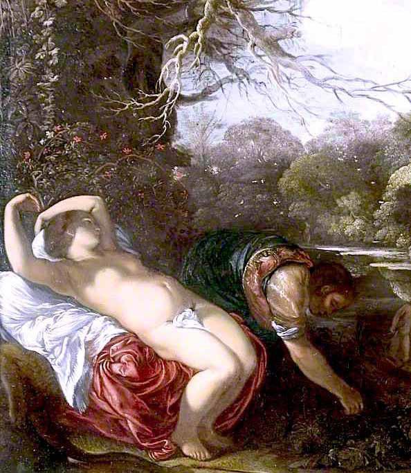Appolo et Coronis - Adam Elsheimer, 1607 - 1608